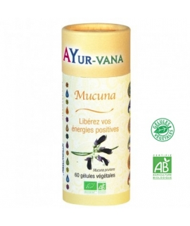 Mucuna pruriens Bio, gélules - Ayur-vana