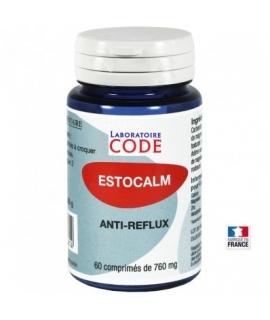 Estocalm, laboratoire Code, anti-reflux, anti-acidité